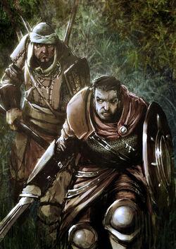 Corabb and Tarr by slaine69