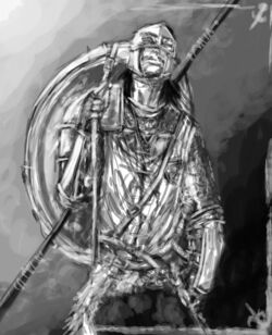 Malazan soldier by slaine69