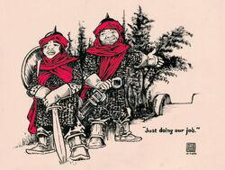 Crimson Guard by PLUGO