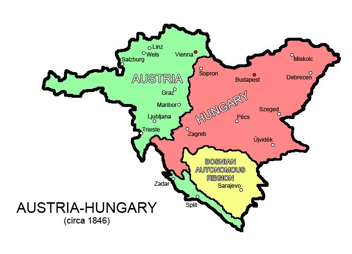 Austrian-Hungarian Empire wAAR for reunification
