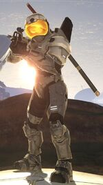 Halo 3 armour Security by Tru W3rewolf
