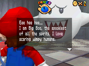 King Boo Battle (Second Time, Super Mario 64 DS)