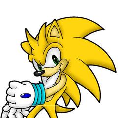 My Sonic OC Static the Hedgehog.