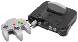 Nintendo 64 - Black Model