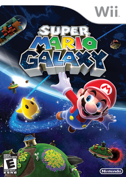 Super Mario Galaxy - North American Boxart