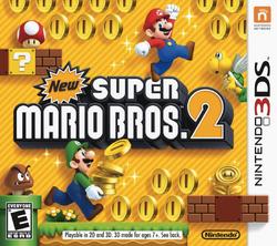 New Super Mario Bros. 2 - North American Boxart