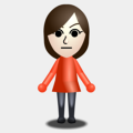 A basic female mii