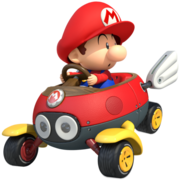 479px-Baby Mario Artwork (shadowless) - Mario Kart 8