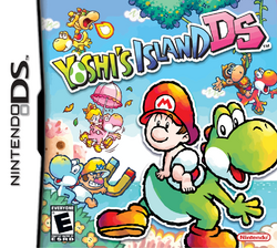 Yoshi's Island DS Artwork - North American Boxart