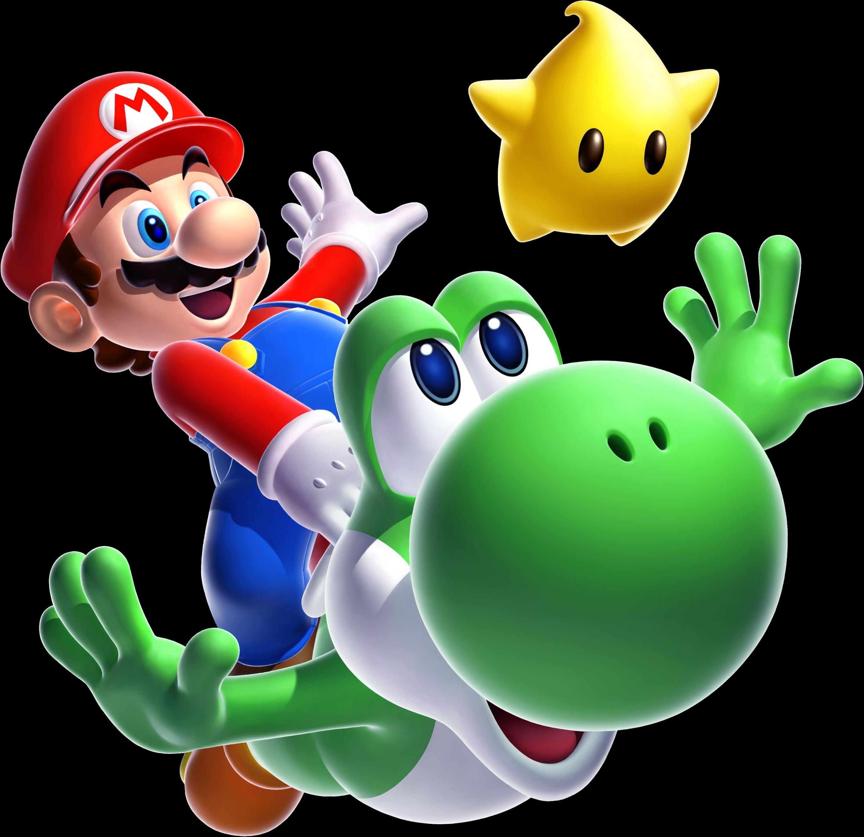 Super Mario Galaxy 2 Mario