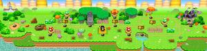World 1 Map - New Super Mario Bros