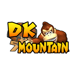 The logo for DK Mountain.