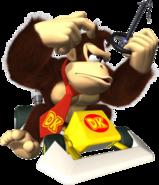 Donkey Kong Artwork - Mario Kart DS