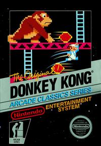 Donkey Kong - North American Box