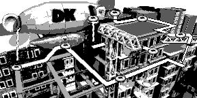 Big Ape City - Overworld - Donkey Kong Land