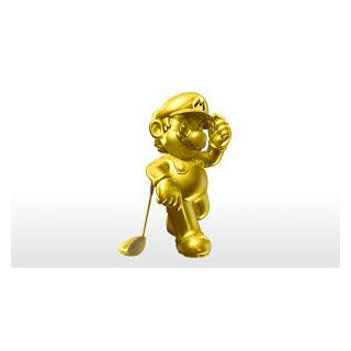 <i>Mario Golf: World Tour</i> also hosts Gold Mario as a