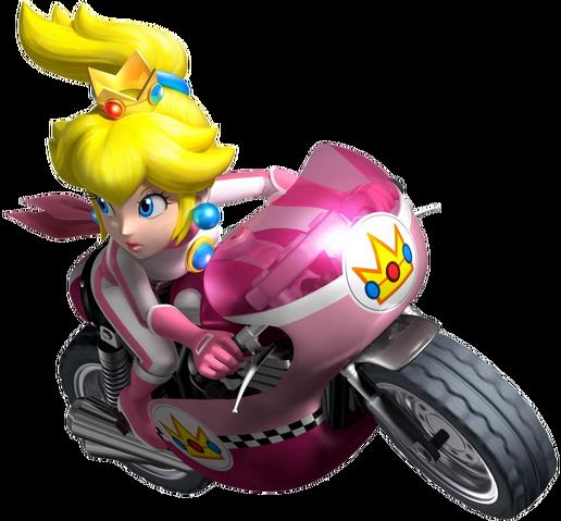 File:Peach - Mario Kart Wii.png
