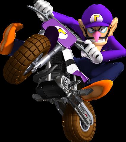 File:Waluigi - Mario Kart Wii.png