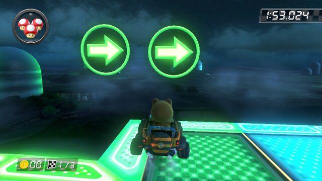 File:SNES Rainbow Road (Mario Kart 8) 2.jpg