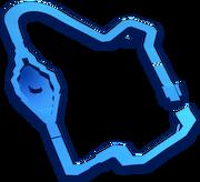 MK8 Thwomp Ruins map