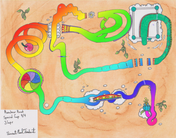 File:Mario kart w2 rainbow road by tapejara-d5flcza.png