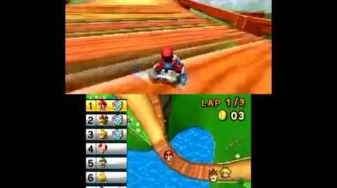 Mario Kart 7 First Run Mushroom Cup 50cc