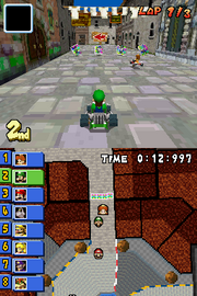 Delfino Square Gameplay (Mario Kart DS)