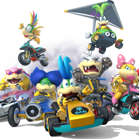 Larrys and the Koopalings' <i><a href=