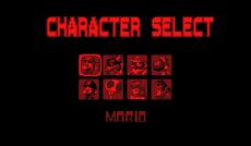 Mario Kart Virtual Cup Character Select