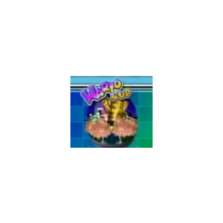 The second logo of the Wario Cup, from <i><a href=