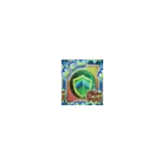 A highly pixelated photo of the Shield just being unlocked.