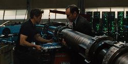 Tony and Coulson