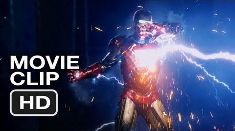 The Avengers Movie CLIP 5 - Iron Man vs Thor - Marvel Movie (2012)