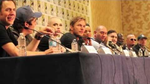 Guardians Of The Galaxy Movie SDCC 2013 Press Conference