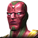 Vision (Age of Ultron) portrait