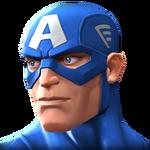 Captain America portrait
