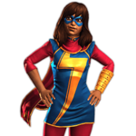 Ms. Marvel (Kamala Khan) featured