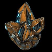 Crystal rocket