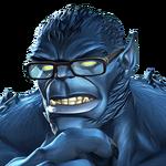 Beast portrait