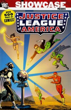 Cover for the Showcase Presents: Justice League of America Vol. 1 Trade Paperback