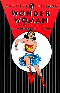 Cover for the Wonder Woman Archives Vol. 1 Trade Paperback