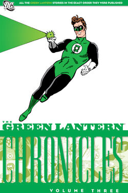 Cover for the The Green Lantern Chronicles Vol. 3 Trade Paperback