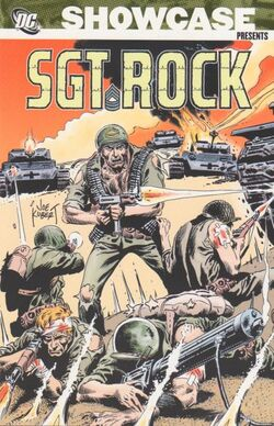 Cover for the Showcase Presents: Sgt. Rock Vol. 2 Trade Paperback