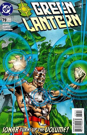 Cover for Green Lantern #79 (1996)
