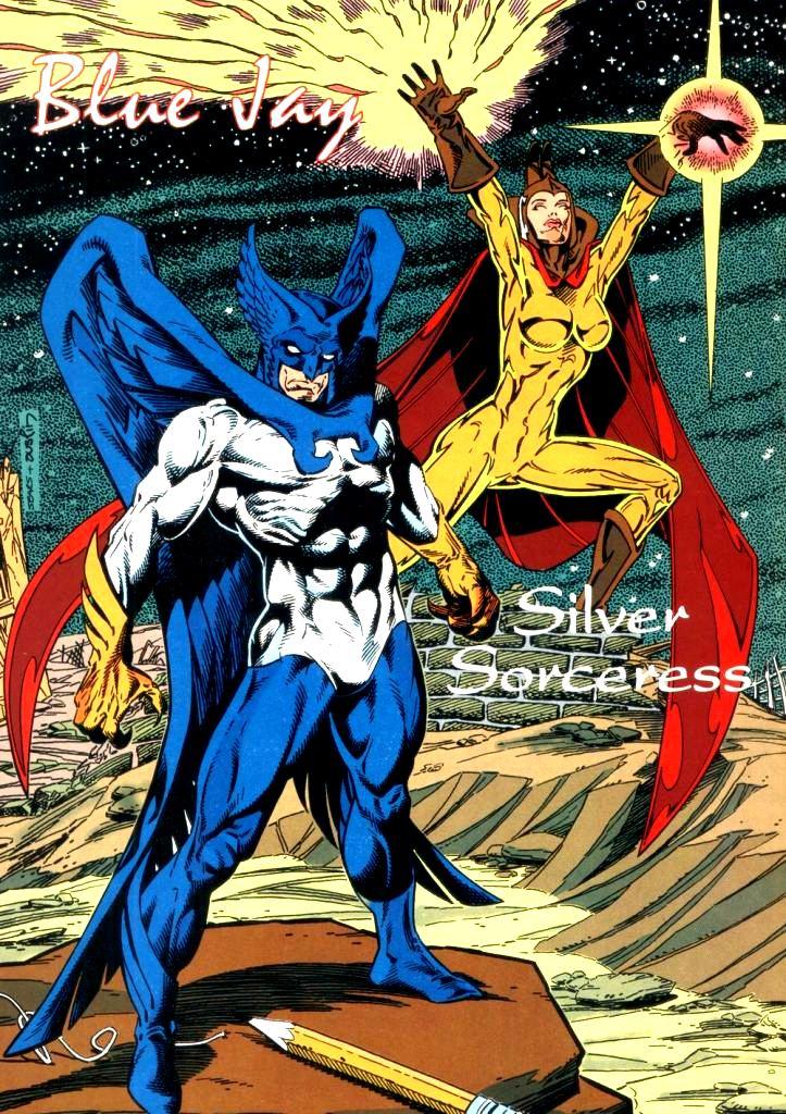 blue jay dc comics gay