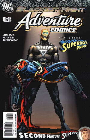 Cover for Adventure Comics #5 (2010)