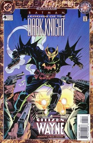 Cover for Batman: Legends of the Dark Knight #4 (1994)