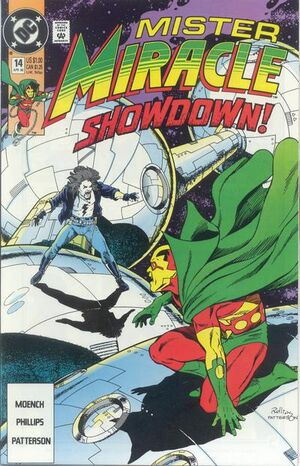 Cover for Mister Miracle #14 (1990)