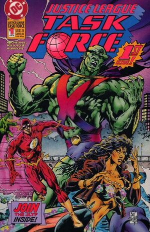 Cover for Justice League Task Force #1 (1993)