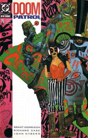 Cover for Doom Patrol #26 (1989)